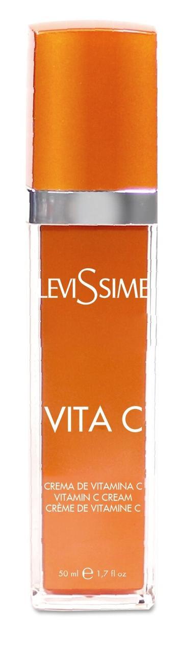 Levissime Vita C Cream. Оживляющий крем с витамином С и гиалуроновой кислотой, 50 мл.