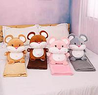 Детский плед игрушка Мышка