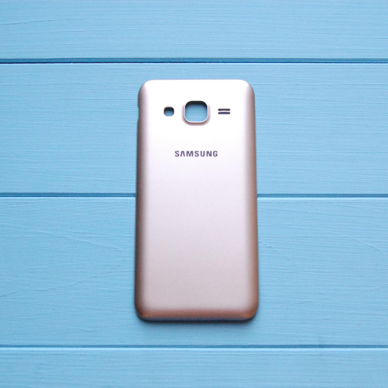 Задняя панель корпуса Samsung J2/J200 Золотая