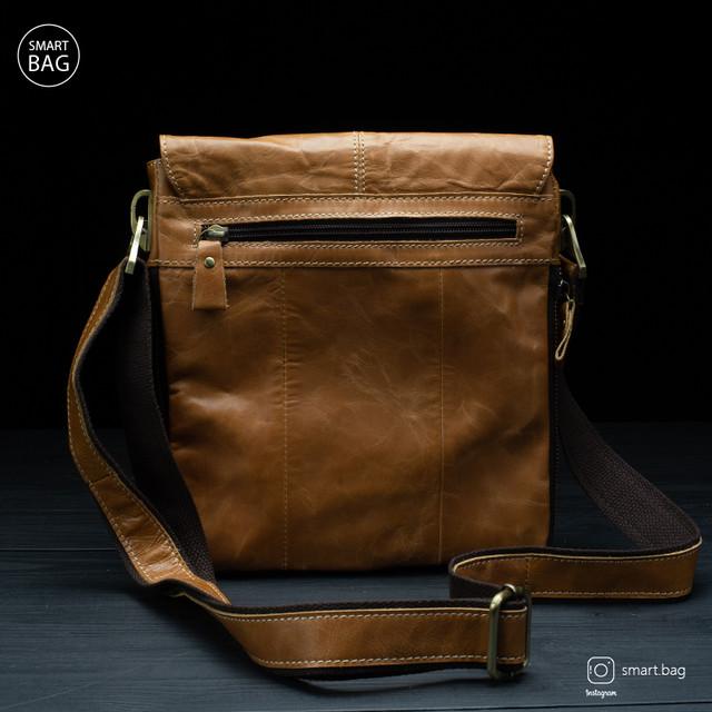 Мужская кожаная сумка Marrant | светло-коричневая