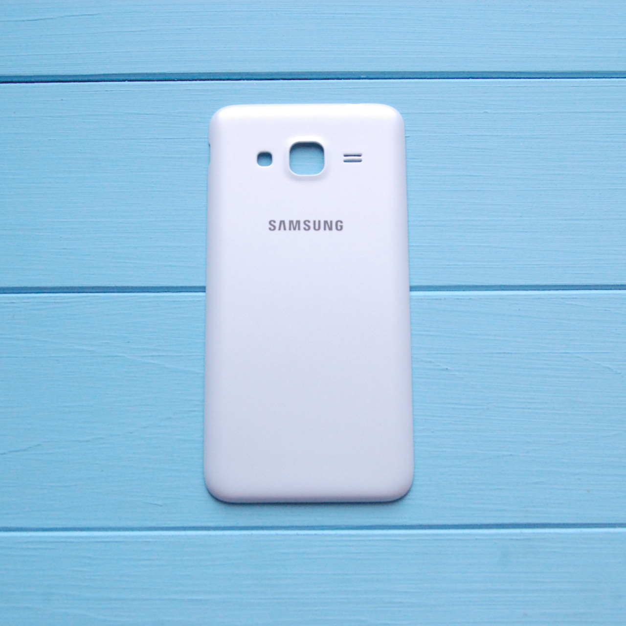 Задняя панель корпуса Samsung J300 Galaxy J3 Белая