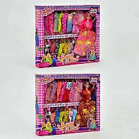 Детская кукла барби с нарядом в коробке