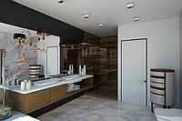 Покраска стен и потолков пульверизатором(нагнетание краски при помощи компрессора)