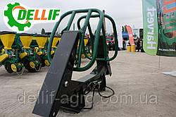 Захват для тюків ( боковий захват для тюків) на навісні фронтальні навантажувачі Dellif до МТЗ, ЮМЗ Т 40