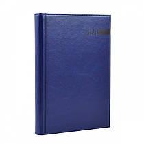 Ежедневник A5 датированный 2020 Leo planner Persona твердый,PU,синий 251938