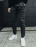Спортивные штаны утепленные Staff ( Размеры XS,S,M,L ) logo grafit fleece мужские
