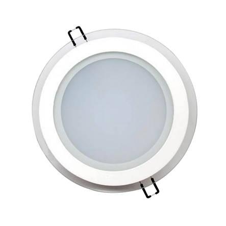 Светильник светодиодный встраиваемый LEDEX 18Вт 6500K 1380lm круг стекло (102961), фото 2