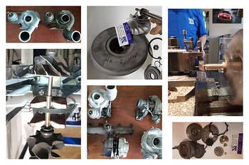 Ремонт турбин (турбокомпрессоров)