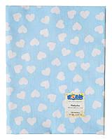 Ситцевая пеленка для новорожденных / Ситцева пеленка для новонароджених