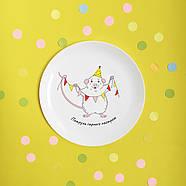 Тарелка «Святкове мишеня», фото 2