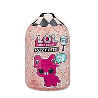 Набор LOL Surprise S5 W1 Лол питомец любимец в дисплее Модное перевоплощение Fuzzy Pets with Washable Fuzz