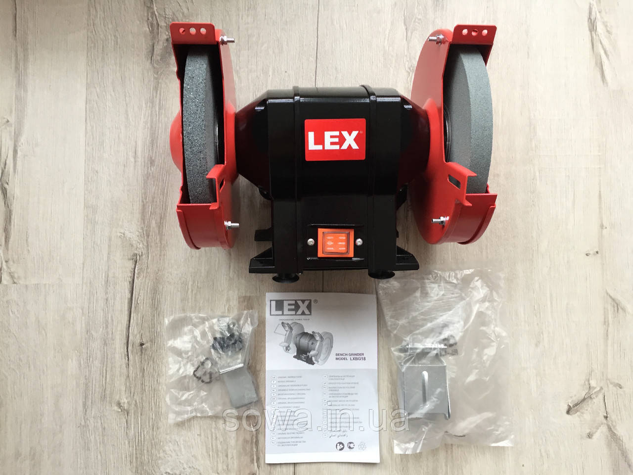 ✔️ Точило Lex LXBG18  _  200мм, 1800Вт