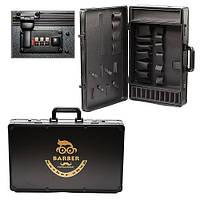Профессиональный кейс-чемодан для барбера-парикмахера, металлическая сумка-дипломат Вarber MIDSKY 54*33*11.5см, фото 1