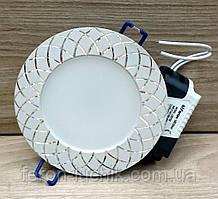 Светодиодный светильник Feron AL780 7W встраиваемый точечный белый, черный