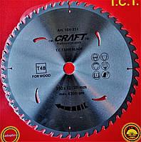 104351 Диск пильний  Prakta     Т.С.Т. 350*32(30)мм* 48Т