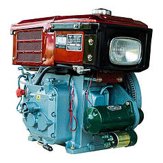 Двигатель дизельный Кентавр ДД180ВЭ с водяным охлаждением (8 л.с.) для мотоблоков с электростартером
