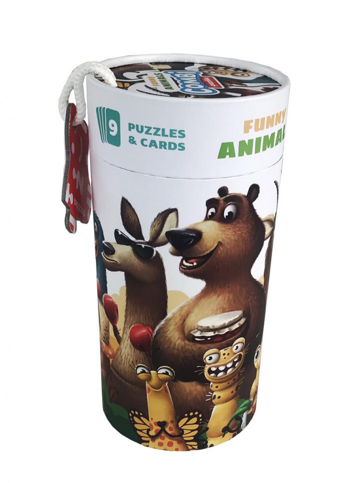 """Пазли """"Забавні тварини"""" (13579), дитяча іграшка, подарунок для дитини"""