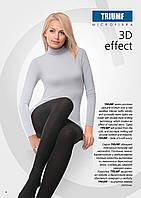 Теплые колготки из нитей микрофибры Conte TRIUMF Microfibra 3D effect