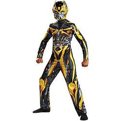Маскарадный костюм трансформера Бамблбиа Bumble Man шмель