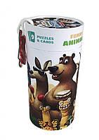"""Пазлы """"Забавные животные"""" (13579), детская игрушка, подарок для ребенка"""