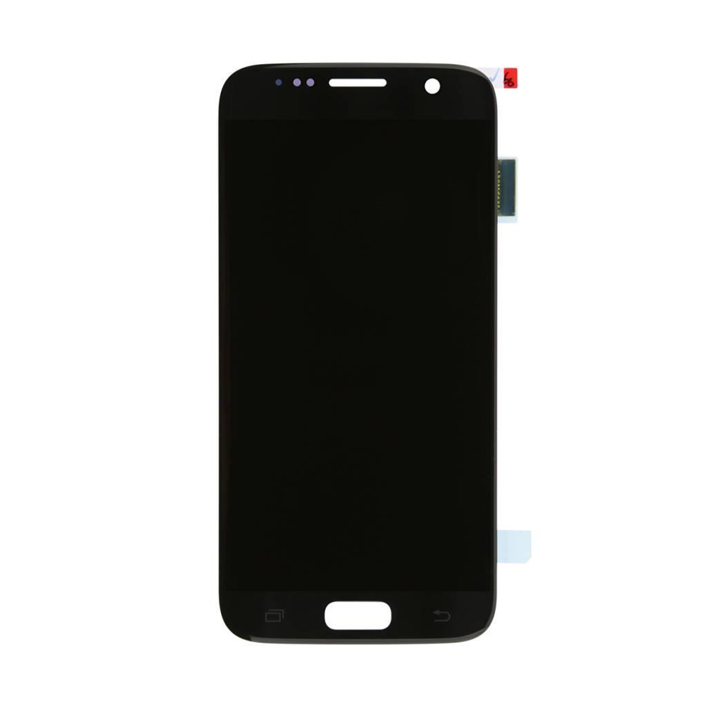 Дисплей для Samsung G930F Galaxy S7/G930FD TFT с тачскрином черный (подсветка Оригинал)