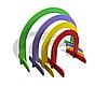 Дуги для подлезания - цветные 4 шт (зеленый, сирень, желтый, красный)