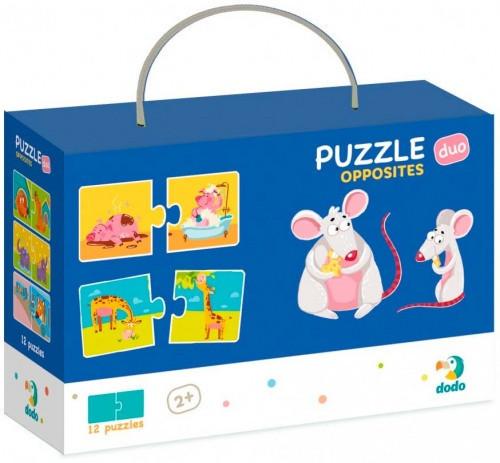Пазл DoDo Противоположности 300151, детская игрушка, подарок для ребенка