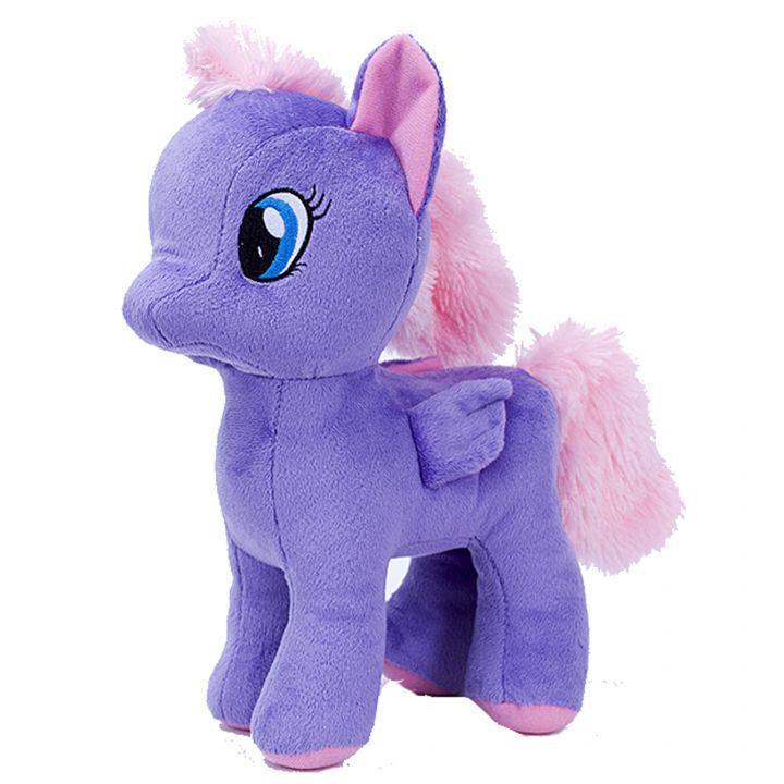 Мягкая игрушка Пони Искорка (фиолетовый)