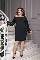 Красивое  женское вечернее платье р-ры 50-60 арт 3044