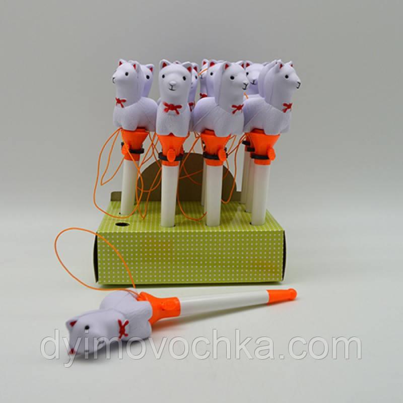 """Ручка """"Лама"""" на резинке ST00466"""