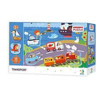 Пазл DoDo Сортер Транспорт 300158, детская игрушка, подарок для ребенка
