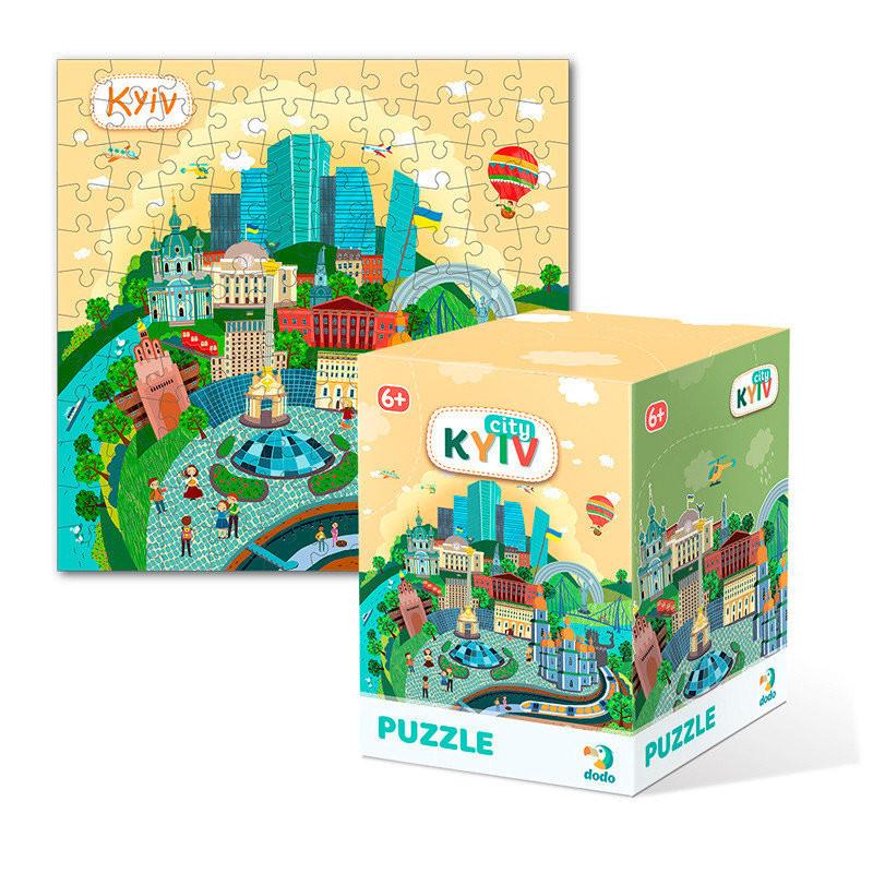 """Пазл DoDo Города """"Киев"""" 300168, детская игрушка, подарок для ребенка"""