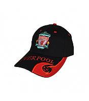 Кепка блайзер Liverpool FC черная (Ливерпуль)
