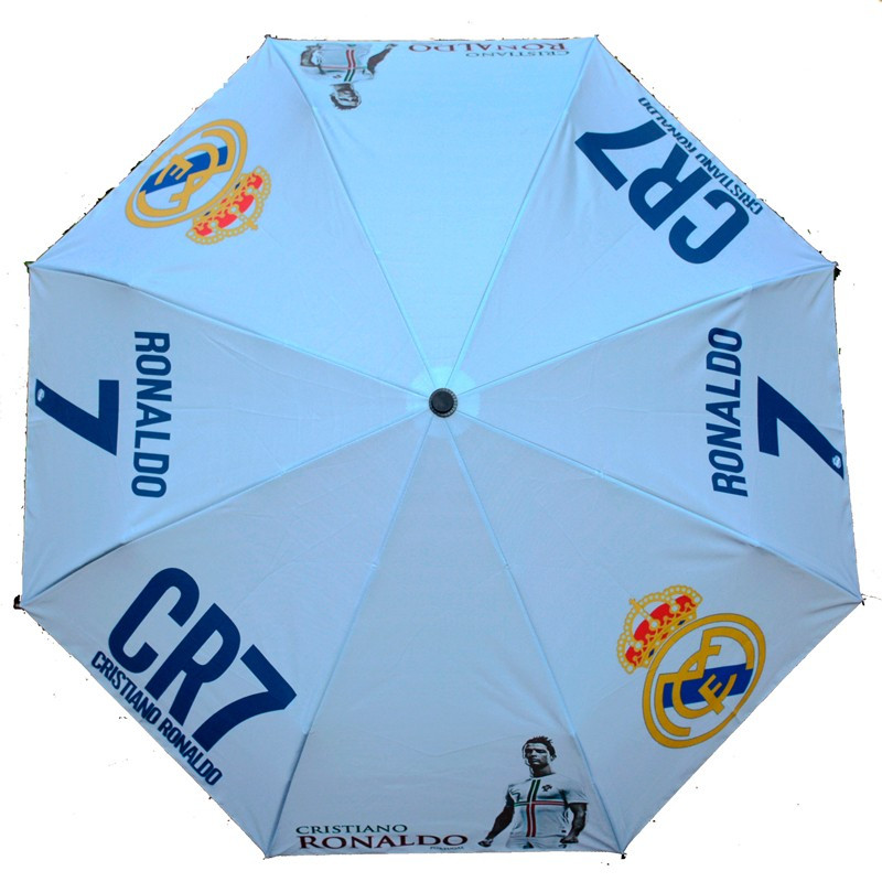 Зонт Cristiano Ronaldo CR7 білий
