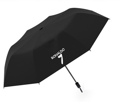 Зонт Cristiano Ronaldo CR7 черный