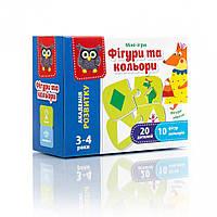 """Мини-игра VT5111 ( """"Фигуры и цвета"""" VT5111-08 (укр)), детская игрушка, подарок для ребенка"""
