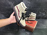 Мужские зимние ботинки в стиле Vans Old Skool High (Топ качество)