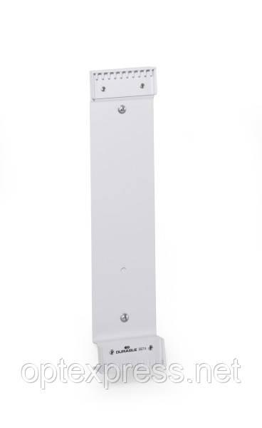 Настенный модуль (держатель)  металлический для 10 демо-панелей  DURABLE 5674
