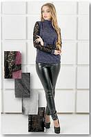 Жіночий світшот з гіпюром, фото 1