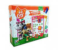 """Математика на магнитах """"44 Cats"""" VT5411-08 (укр), детская игрушка, подарок для ребенка"""