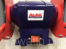 ✔️ Точильний верстат Al-FA_альфа ALBG18 ( 1800Вт, 200мм - коло ), фото 3
