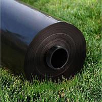 Плёнка ПЭ 200мк, рукав 1,5м, общая ширина 3м, длина 50м Чёрная, плёнка тепличная