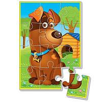 """Мягкие пазлы А5 VT1103 (""""Любимцы"""" Собака), детская игрушка, подарок для ребенка"""