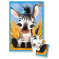 """Мягкие пазлы А5 VT1103 (""""Зебрик""""), детская игрушка, подарок для ребенка"""