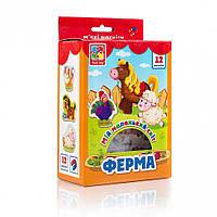 """Мой маленький мир на магнитах VT3106 ( """"Ферма"""" VT3106-09 (укр)), детская игрушка, подарок для ребенка"""