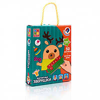"""Магнитная игра VT3702 (""""Зверушки"""" VT3702-10 (рус)), детская игрушка, подарок для ребенка"""