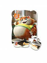 """Пазлы магнитные А5 """"44 Cats"""" VT3205 (""""Фрикадель в городе"""" (укр)), детская игрушка, подарок для ребенка"""