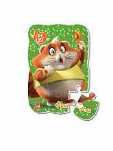 """Пазлы магнитные А5 """"44 Cats"""" VT3205 (""""Фрикадель"""" (укр)), детская игрушка, подарок для ребенка"""