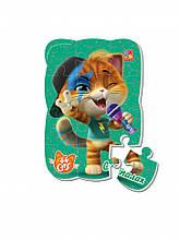 """Пазлы магнитные А5 """"44 Cats"""" VT3205 (""""Вспышка"""" (укр)), детская игрушка, подарок для ребенка"""