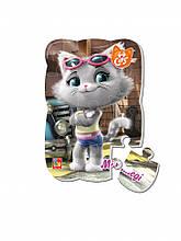 """Пазлы магнитные А5 """"44 Cats"""" VT3205 (""""Миледи в городе"""" (укр)), детская игрушка, подарок для ребенка"""